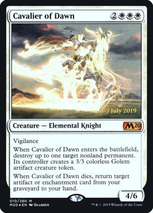 Cavalier of Dawn (Prerelease)