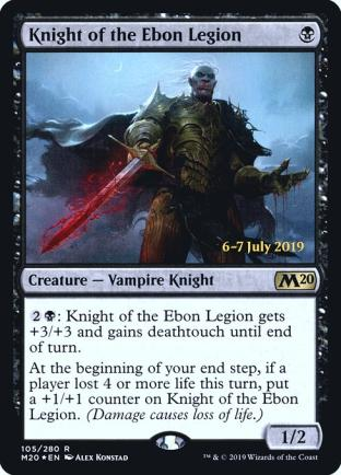 Knight of the Ebon Legion (Prerelease)
