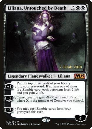 Liliana Untouched by Death Prerelease