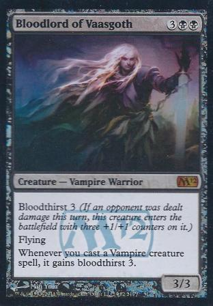 Bloodlord of Vaasgoth (2012 Core Set Prerelease)