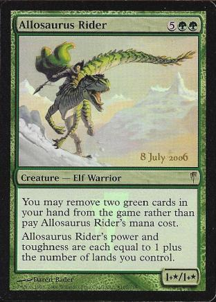 Allosaurus Rider (CS Prerelease)