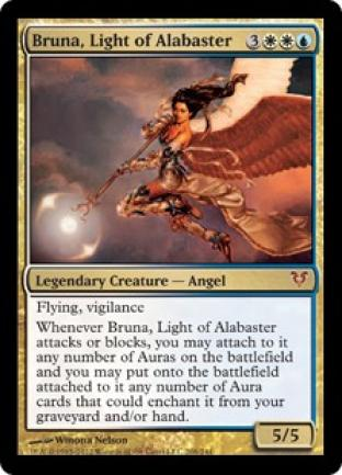 Bruna Light of Alabaster Helvault Oversize Card