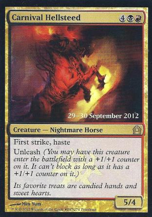 Carnival Hellsteed Prerelease