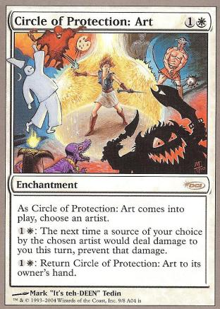 Circle of Protection Art (Arena Promo)
