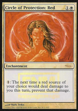 Circle of Protection Red (FNM)
