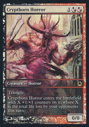 Cryptborn Horror (Full Art Game Day)
