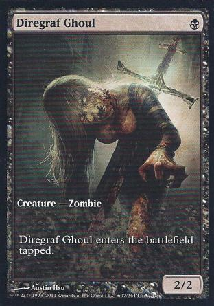 Diregraf Ghoul (Full Art)