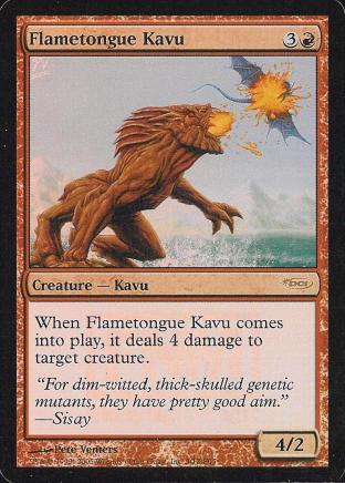 Flametongue Kavu (FNM)