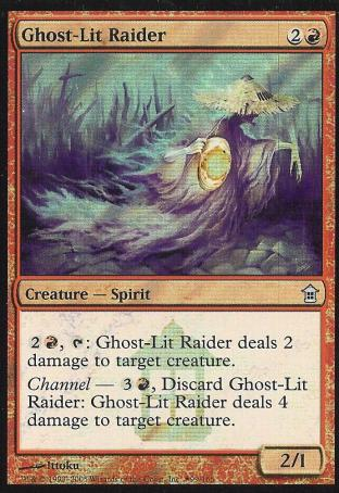 Ghost-Lit Raider (Promo)