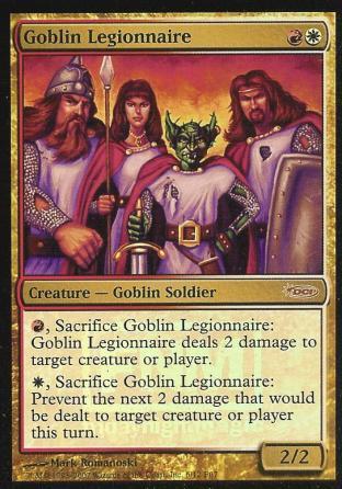 Goblin Legionnaire (FNM)