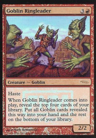 Goblin Ringleader (FNM)