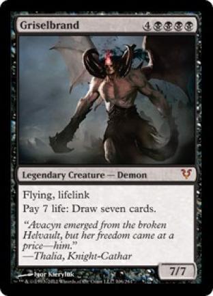 Griselbrand Helvault Oversize Card