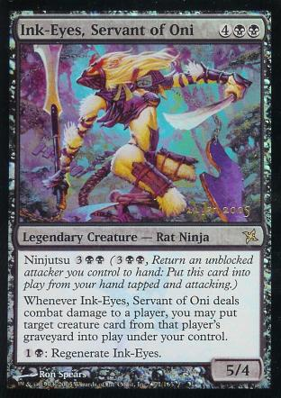 Ink-Eyes, Servant of Oni (Prerelease)
