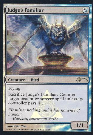 Judge's Familiar (FNM)