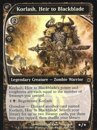 Korlash, Heir to Blackblade (FS Prerelease)