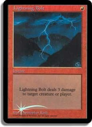 Lightning Bolt (Beta Art Promo)