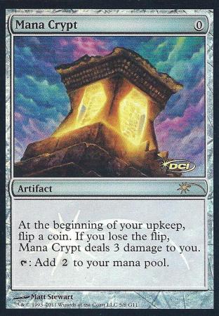 Mana Crypt (Judge Promo)