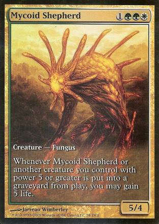 Mycoid Shepherd (Magic 2010 Game Day FOIL Extended Art)