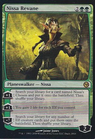 Nissa Revane (Duels of the Planeswalkers - PC)