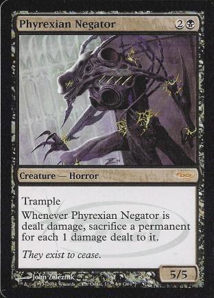 Phyrexian Negator (DCI Judge)