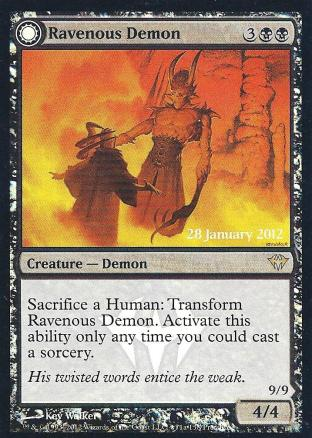 Ravenous Demon Archdemon of Greed (DAPrerelease)