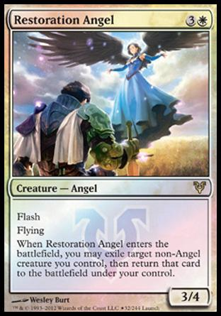 Restoration Angel (Launch Party)