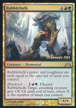 Rubblehulk (GC PreRelease)