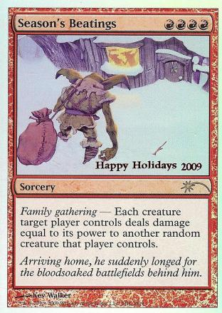 Seasons Beatings (Holiday Promo)