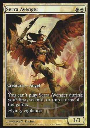 Serra Avenger (Champs Full Art)