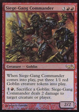 Siege-Gang Commander (Elves Vs Goblins)