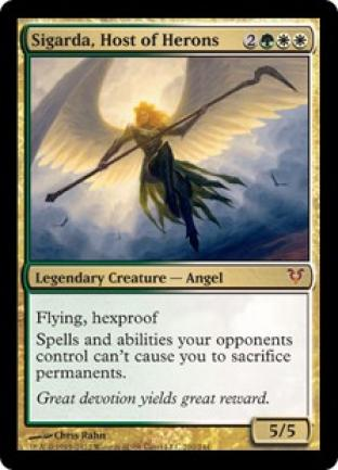Sigarda Host of Herons Helvault Oversize Card