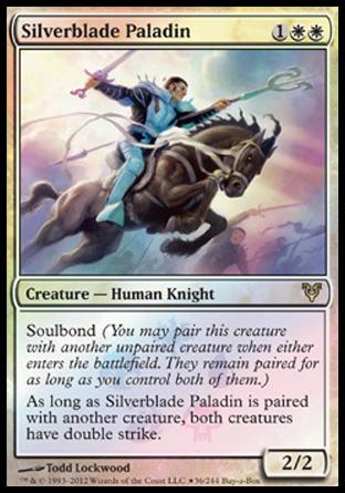 Silverblade Paladin (Buy A Box)