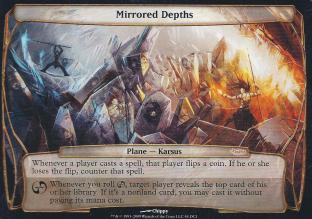 Mirrored Depths (WPN Planechase Promo)