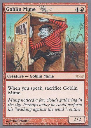 Goblin Mime (DCI Promo)
