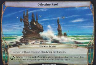 Celestine Reef (Zendikar Release Planechase Promo)