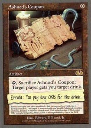 Ashnod's Coupon (DCI)