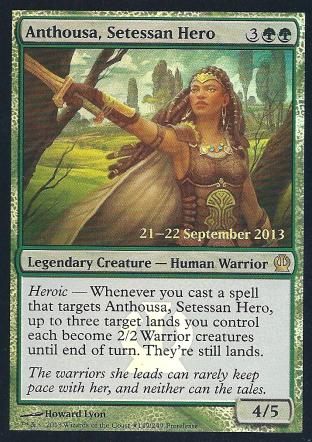 Anthousa Setessan Hero (Pre Release)