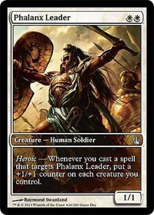 Phalanx Leader (Game Day Full Art)