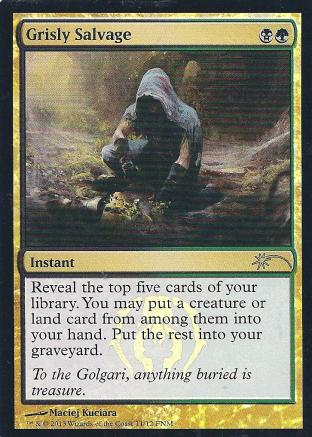 Grisly Salvage (FNM)
