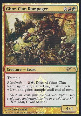 Ghor-Clan Rampager FNM