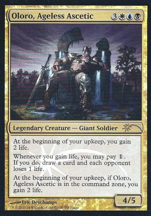 Oloro Ageless Ascetic (Judge Promo)