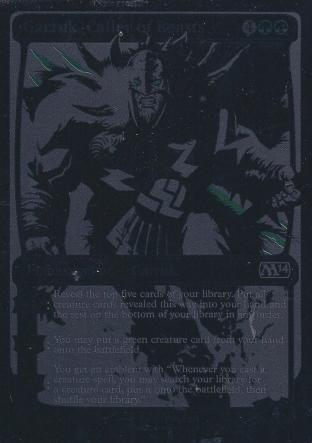 Garruk Caller of Beast SDCC Comicon Promo