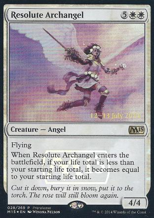 Resolute Archangel (Prerelease)