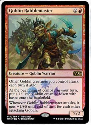 Goblin Rabblemaster (Buy-A-Box Promo)