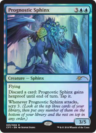 Prognostic Sphinx (Clash Pack Promo)