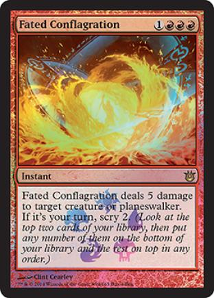 Fated Conflagration (Buy a Box Promo)