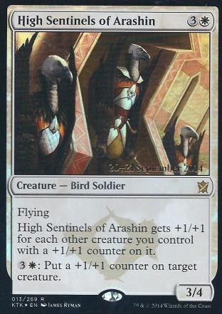 High Sentinels of Arashin (Pre Release)