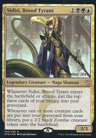 Sidisi Brood Tyrant (Pre Release)
