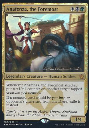 Anafenza the Foremost (Pre Release)