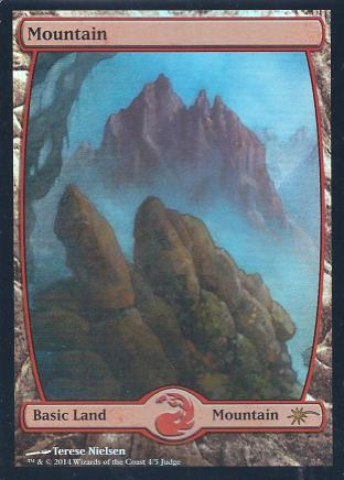 Mountain (Full Art Nielsen Judge Promo)